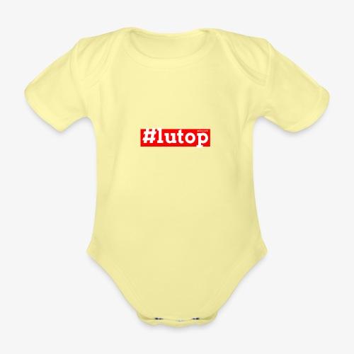 LuTop - Body ecologico per neonato a manica corta