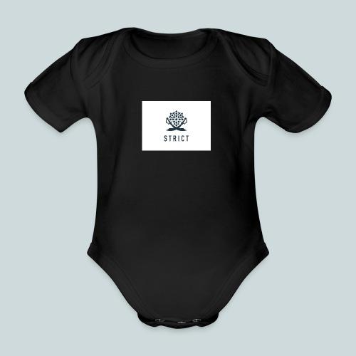 STRICT FLAG - Body orgánico de maga corta para bebé