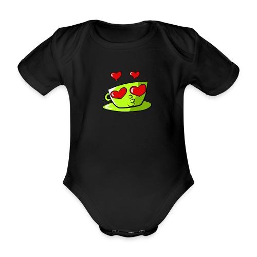 Tasse Loveoccino Edition 2020 - Baby Bio-Kurzarm-Body