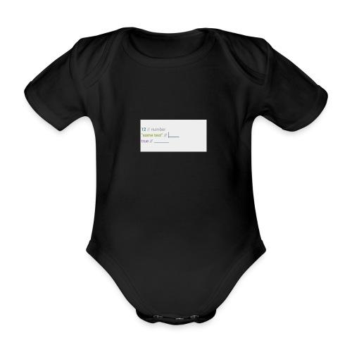 code - Body Bébé bio manches courtes