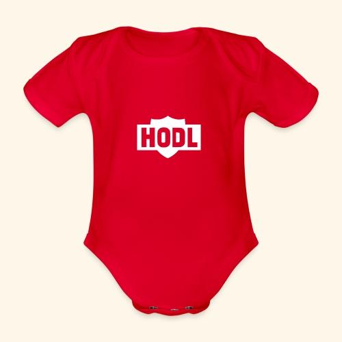 HODL TO THE MOON - Vauvan lyhythihainen luomu-body