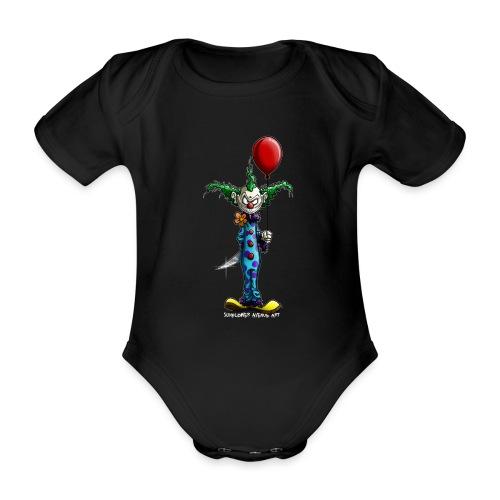 klaun tee - Ekologisk kortärmad babybody