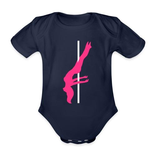 Pole Dance Pole Dancing - Body ecologico per neonato a manica corta