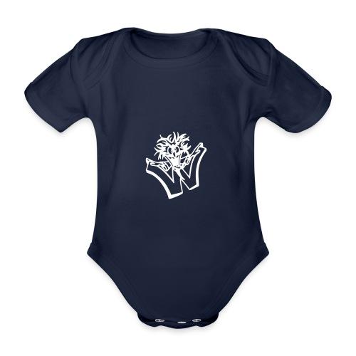 w wahnsinn - Baby bio-rompertje met korte mouwen