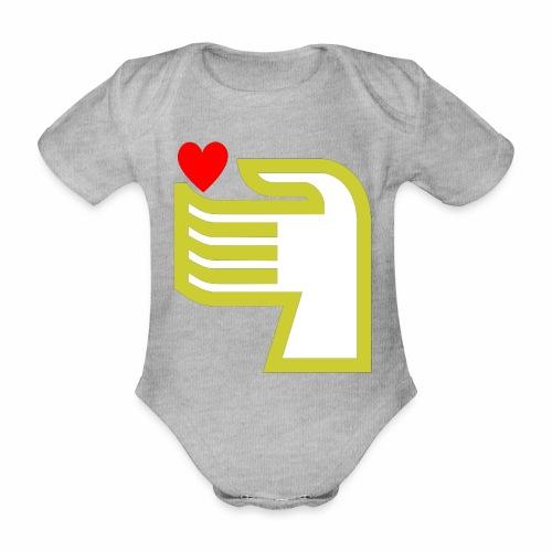 Hand und Herz - Baby Bio-Kurzarm-Body