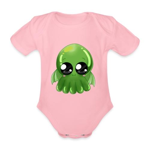 Super süßer Cthulhu - Baby Bio-Kurzarm-Body