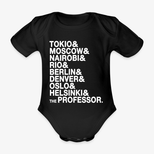Casa di Carta - Donna Canottiera - Body ecologico per neonato a manica corta