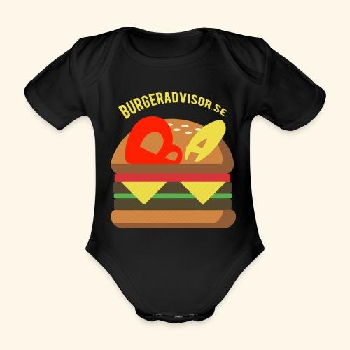 BA logolink200dpi - Organic Short-sleeved Baby Bodysuit