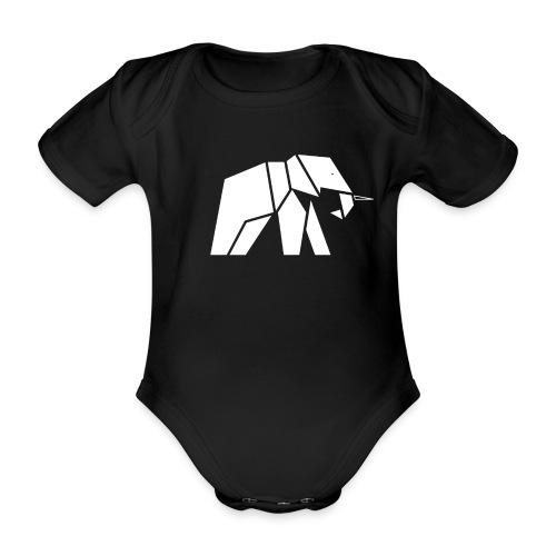 Schönes Elefanten Design für Elefanten Fans - Baby Bio-Kurzarm-Body