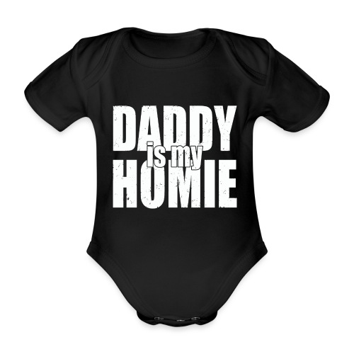 Daddy is my - Baby bio-rompertje met korte mouwen