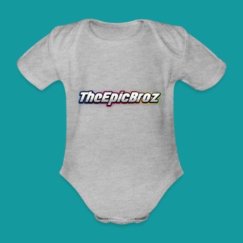 TheEpicBroz - Baby bio-rompertje met korte mouwen
