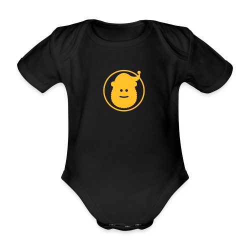 Santa Claus Avatar - Organic Short-sleeved Baby Bodysuit