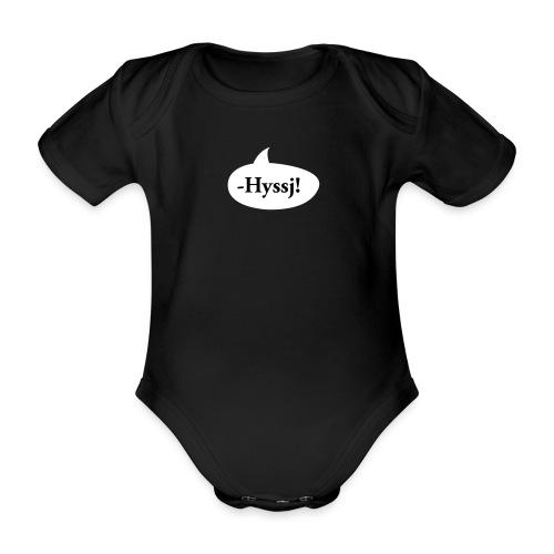 HYSSJ! - Ekologisk kortärmad babybody