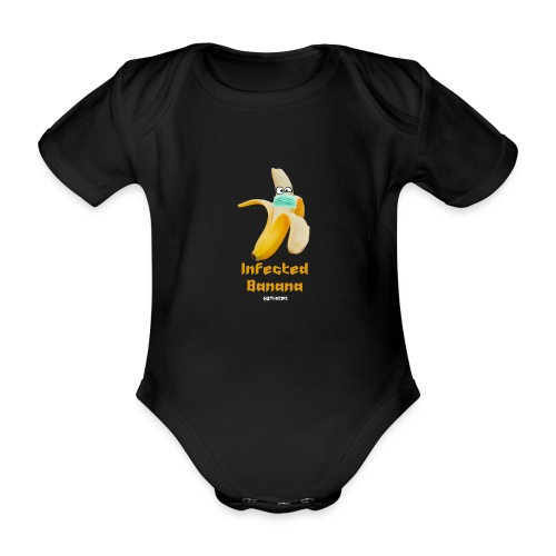 Die Zock Stube - Infected Banana - Baby Bio-Kurzarm-Body