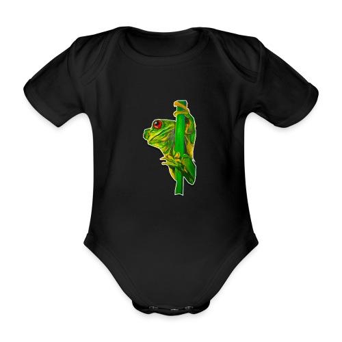 FROGGY - Baby Bio-Kurzarm-Body