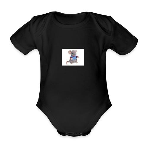 rotte - Kortærmet babybody, økologisk bomuld