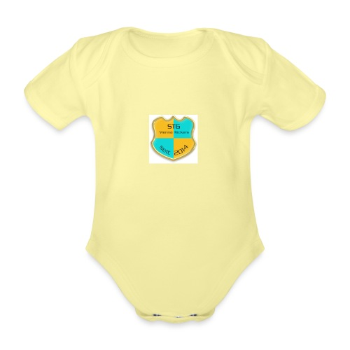 STG Vienna Kickers Logo - Baby Bio-Kurzarm-Body