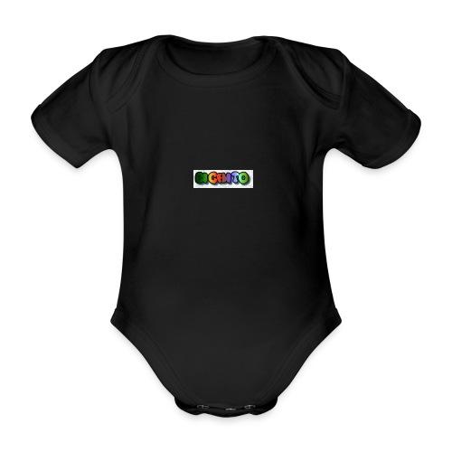 cooltext206752207876282 - Body orgánico de manga corta para bebé