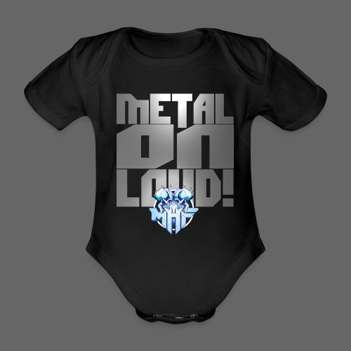 metalonloud large 4k png - Organic Short-sleeved Baby Bodysuit