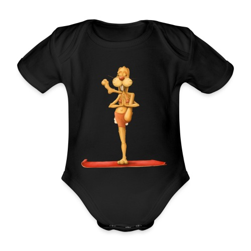 Yoga - Rabbit - Baby Bio-Kurzarm-Body
