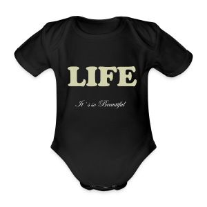 Life Collection - Økologisk kortermet baby-body