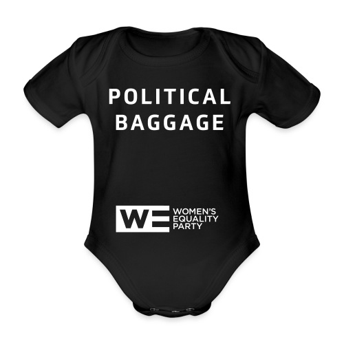 Political Baggage - Organic Short-sleeved Baby Bodysuit