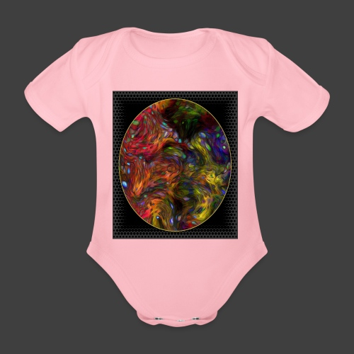 Who will arrive first - Organic Short-sleeved Baby Bodysuit