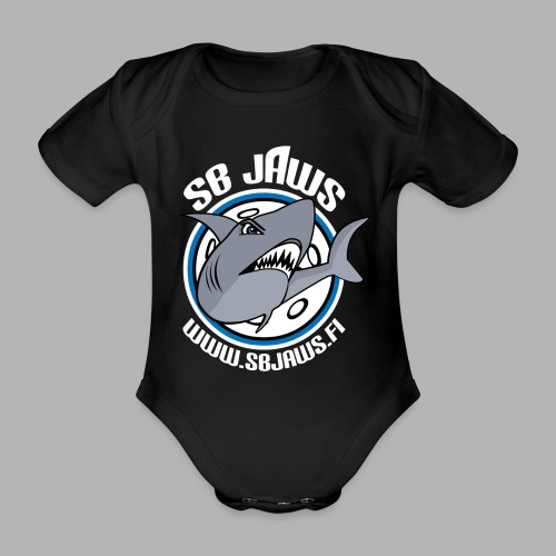 SB JAWS - Vauvan lyhythihainen luomu-body