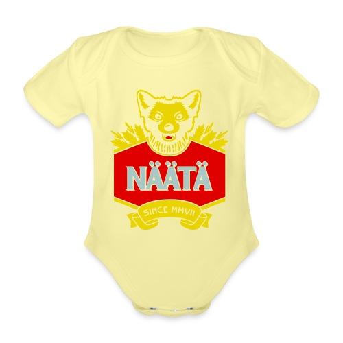 Näätä - Vauvan lyhythihainen luomu-body