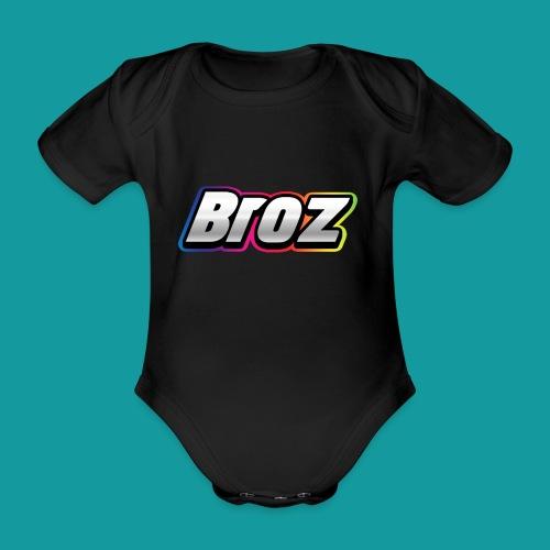 Broz - Baby bio-rompertje met korte mouwen