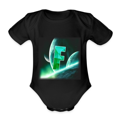 Fahmzii's masterpiece - Organic Short-sleeved Baby Bodysuit