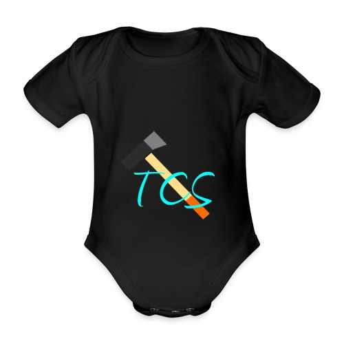 tcs drawn - Organic Short-sleeved Baby Bodysuit