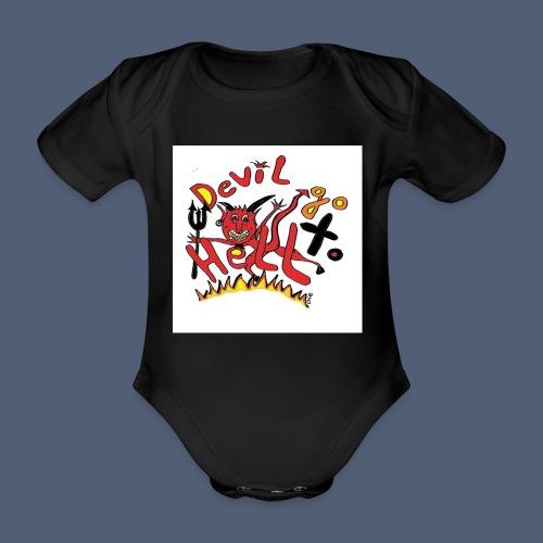 Devil go to hell - Baby Bio-Kurzarm-Body