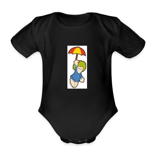 lemming parapluie - Body Bébé bio manches courtes