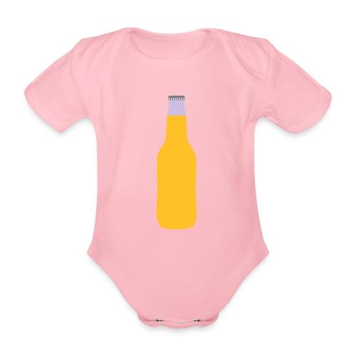Bierflasche - Baby Bio-Kurzarm-Body