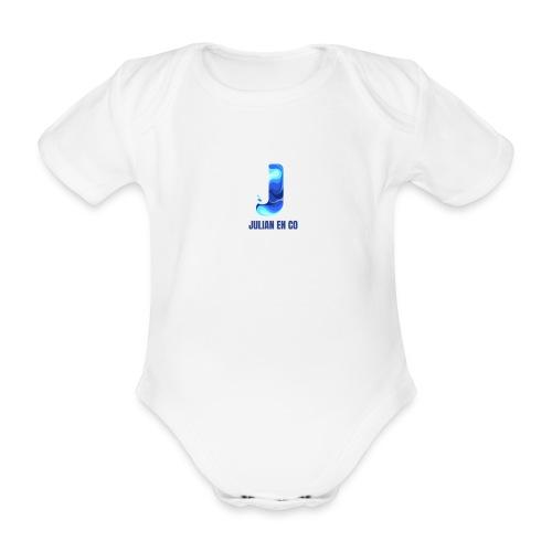 JULIAN EN CO MERCH - Baby bio-rompertje met korte mouwen