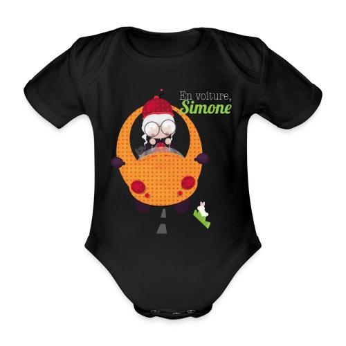 AUTOSIMONE - Body Bébé bio manches courtes