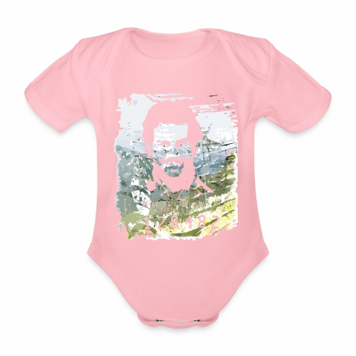 Pablo Escobar distressed - Baby Bio-Kurzarm-Body