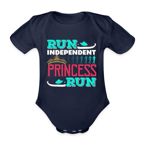RUN INDEPENDENT PRINCESS RUN - Baby Bio-Kurzarm-Body