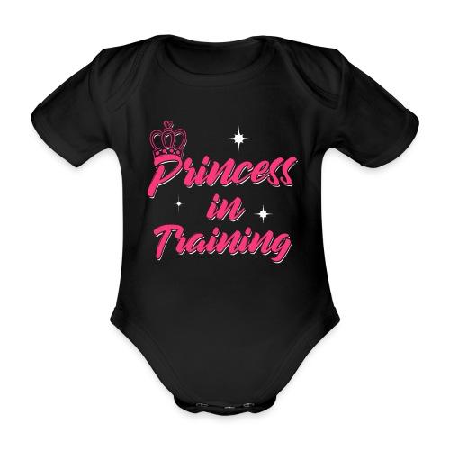 Princess In Training - Baby Bio-Kurzarm-Body