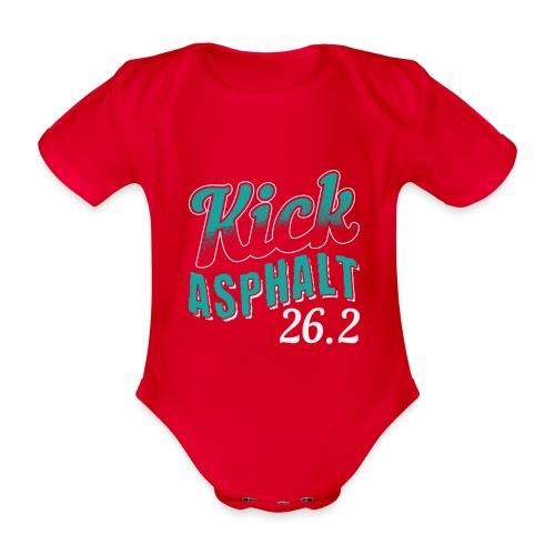 Kick Asphalt 26.2 | Full Marathon - Baby Bio-Kurzarm-Body