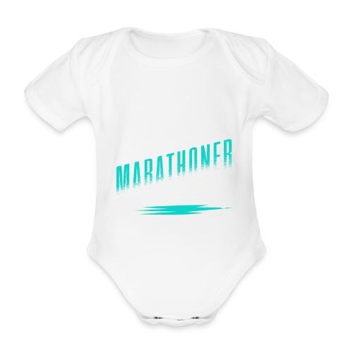 Marathoner - Baby Bio-Kurzarm-Body