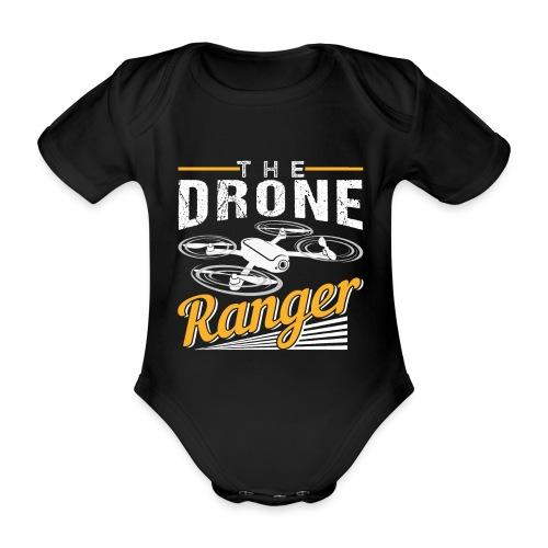 The Drone Ranger | Awesome Pilot - Baby Bio-Kurzarm-Body
