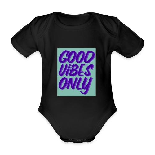 Spruch - Baby Bio-Kurzarm-Body