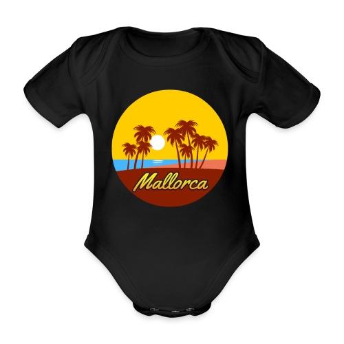 Mallorca - Als Geschenk oder Geschenkidee - Baby Bio-Kurzarm-Body