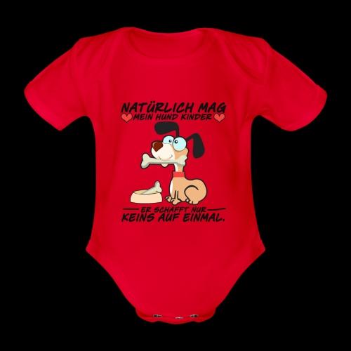 Dog - Baby Bio-Kurzarm-Body