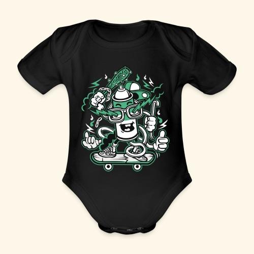 Vandalism - Baby Bio-Kurzarm-Body