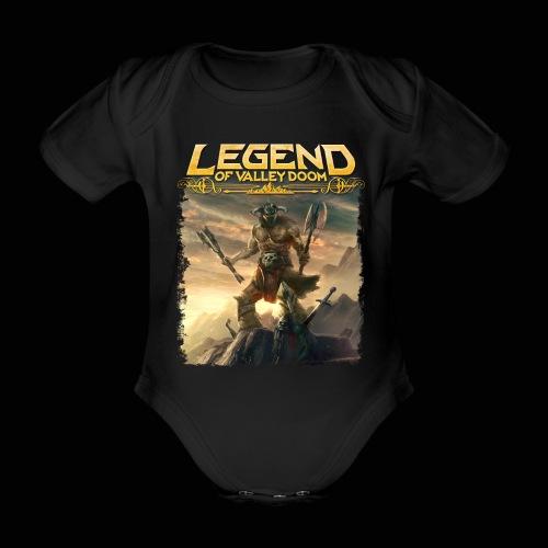 Legend of Valley Doom Part 1 - Organic Short-sleeved Baby Bodysuit