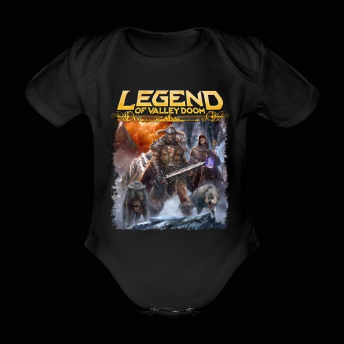 Legend of Valley Doom Part 3 - Organic Short-sleeved Baby Bodysuit