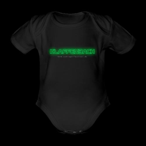 Klaffenbach (Neon) - Baby Bio-Kurzarm-Body